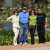 Mane (Maria Ines), Me, Vonchi (Miriam) and Luis