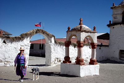 PARINACOTA VILLAGE - LAUCA