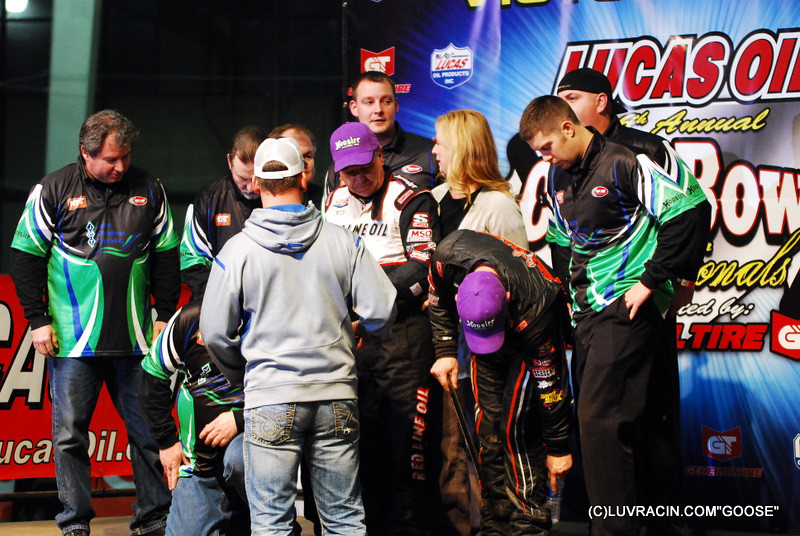 Sammy Swindell Wins Race of Champions - Son Kevin Swindell runs Second