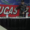 Thursday Part 1 Chili Bowl Qualifier Interview for  Kevin Swindell, Brad Sweet, and Tim McCreadie.   LuvRacin.com, Jerry Gossel