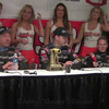 Saturday Chili Bowl Part 1 Winners Interview, Kevin Swindell, Sammy Swindell, and Brad Sweet . LuvRacin.com, Jerry Gossel
