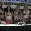 Friday Part 2 Chili Bowl Qualifier Interview with  Chad Boat, Cory Kurseman, and Dave Darland. LuvRacin.com, Jerry Gossel