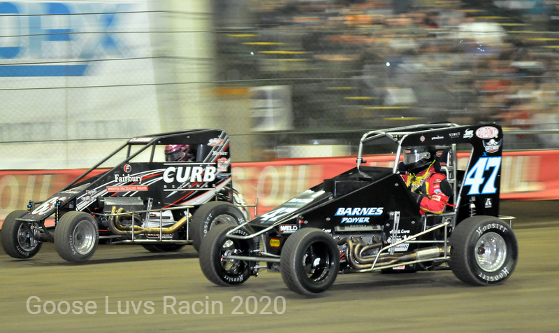 FOR THE LEAD ON THE GAS CLAUSON AND McCREADIE