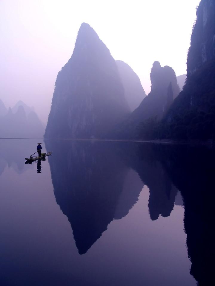CORMORANT FISHERMAN - LI RIVER