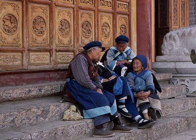 NAXI LADIES - LIJIANG