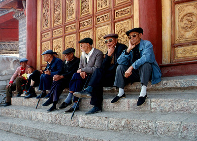 NAXI MEN - LIJIANG