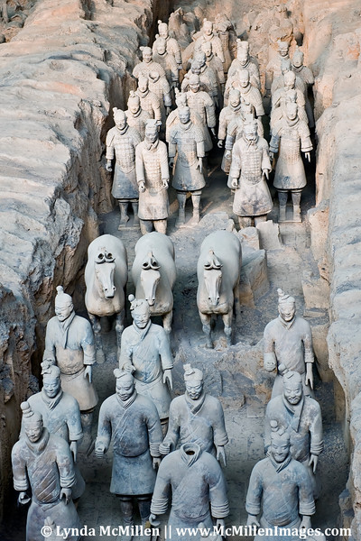 Over 1,000 soldiers and horses have been restored in Xi'an.