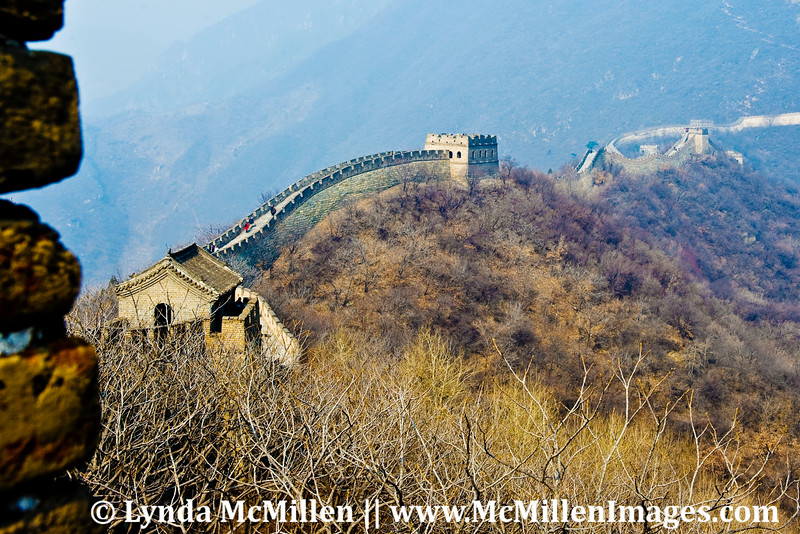 The Great Wall, first built 550 A.D.