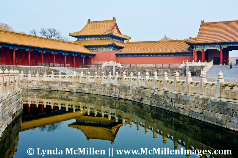 """The Forbidden City's """"palatial architecture"""", built 1406-1420."""