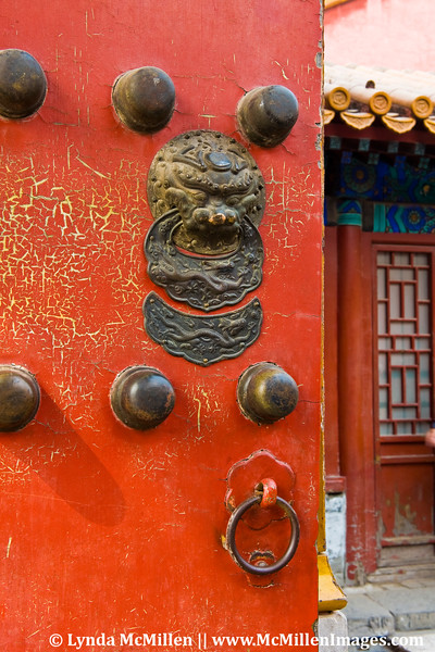 """Ancient doors in an ancient """"city""""."""