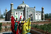 Kashgar -Tomb of Apak Hoja. A massive, elegant building created in 1640 in typical Islamic style. Also a pilgrimage site