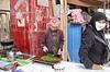 Kashgar- Sunday Mal Bazaar animal market -  Food sellers