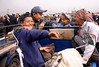 Kashgar - The animal market (2)
