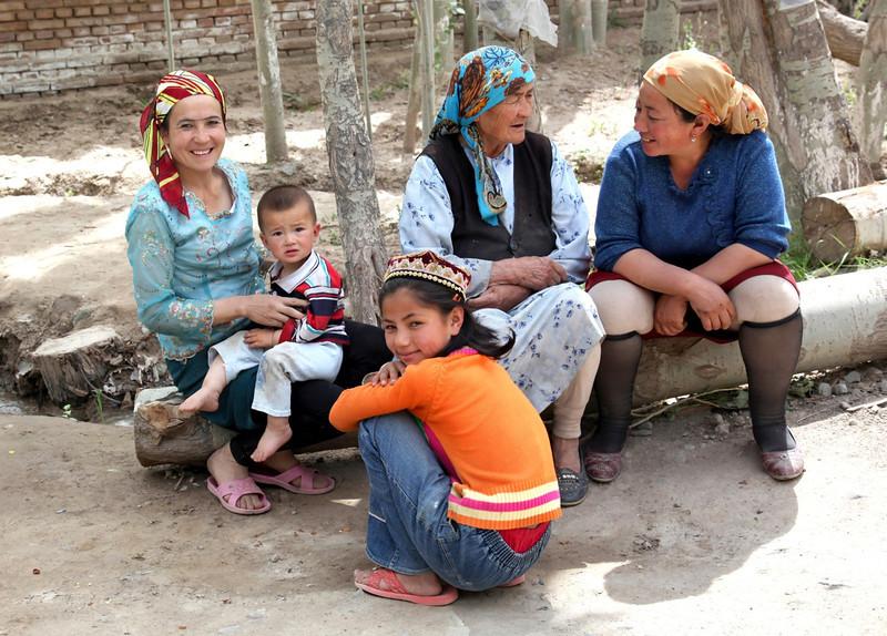 Upal village, Kashgar