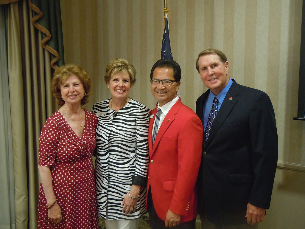 Gala Dinner for Tournament of Roses President, Richard Chinen and his wife Kimberly, City of Cypress Dignitaries and Cypress High School Administration held at the Eagle's Nest Clubhouse at the Navy Golf Course, Cypress, California, April, 22, 2014.