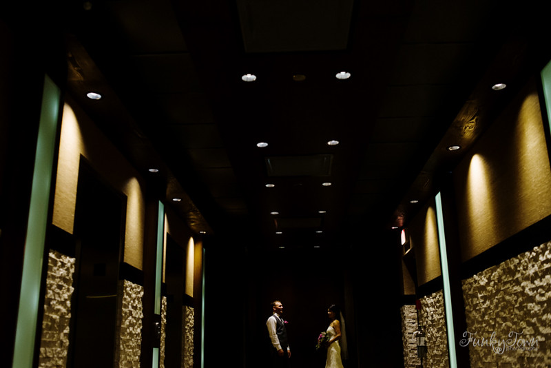 Wedding photography Cardel Theatre Calgary