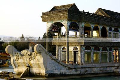 Marble Boat, Summer Palace, Beijing, China