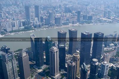 Lujiazui CBD, Pudong, Shanghai, China
