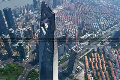 Shanghai World Financial Center, Lujiazui CBD, Pudong, Shanghai, China