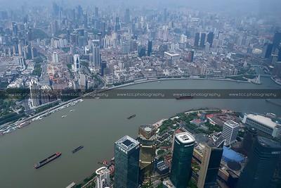 Huangpu River, Shanghai, China