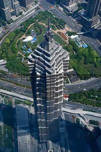 Jin Mao Tower, Lujiazui CBD, Pudong, Shanghai, China