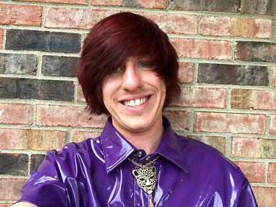 RED HAIR PURPLE PVC CHRIS BRAMBLE
