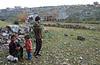 Jeunes bergers dans la ville morte chrétienne de Sergilla. Massif Calcaire/Syrie