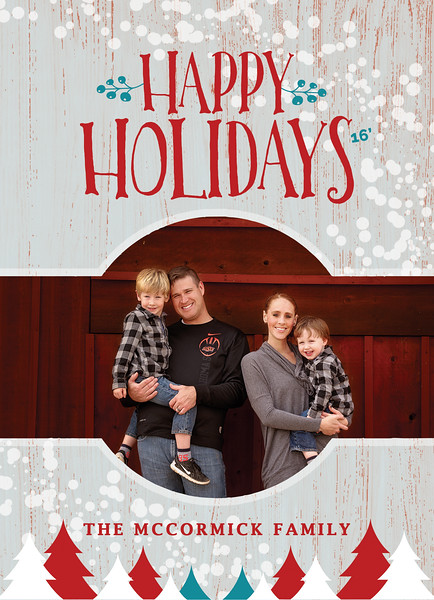 2016 Christmas Card FRONT