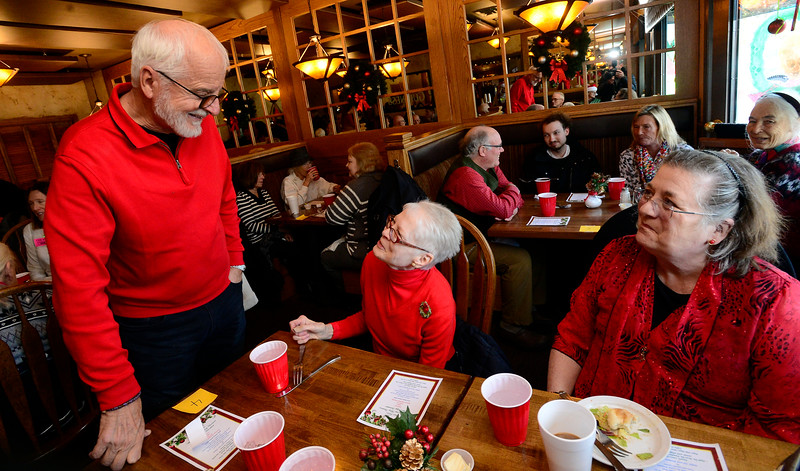 Annual Holiday Christmas Day Dinner at the Niwot Tavern in Niwot
