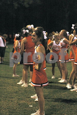 2006 CHS Cheerleaders at Tara Game