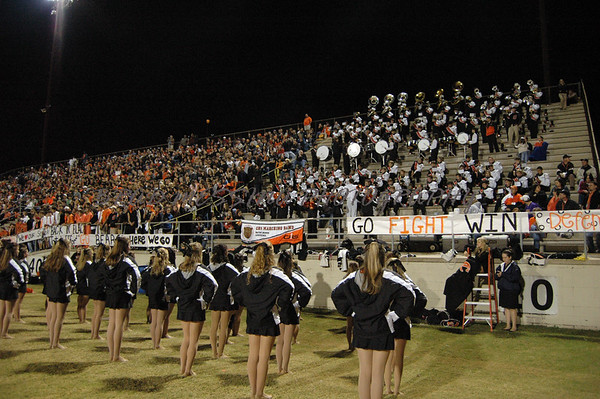 CHS Band and Bruinettes at Central