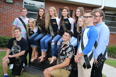 CHS Homecoming Court 2016