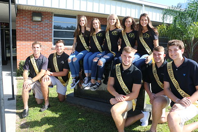 CHS Homecoming Court 2017