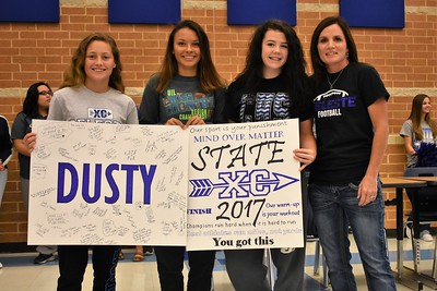CHS State Cross Country Send-off