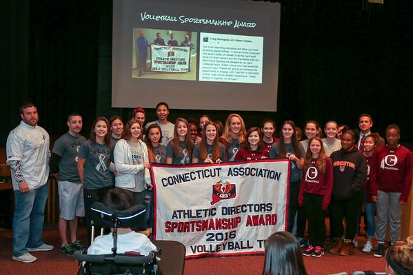 CHS Volleyball Sportsmanship Award