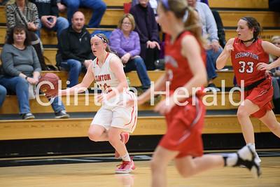 CHS vs Assumption Girls Basketball 12-2-16