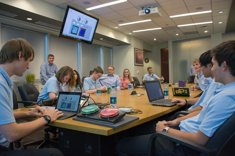 CHS InvenTeam presentation to Microsoft