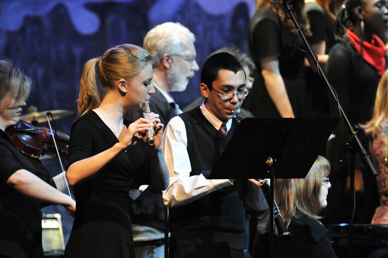 December Winter Concert.  CHS concert band, jazz band, jazz choir, concert choir and chamber choir