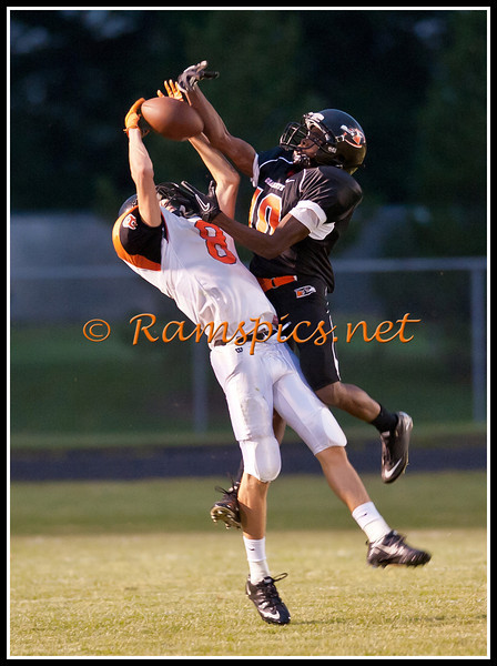 Images from Friday's varsity game (9-9-11) at home, vs Fenton.