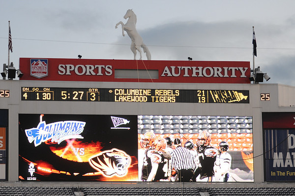 5A Championship Football game - Columbine vs Lakewood - December 3rd 2011