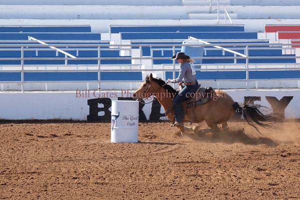 CHSRA-District 8 - Saturday 1-13-18 Barrell Racing