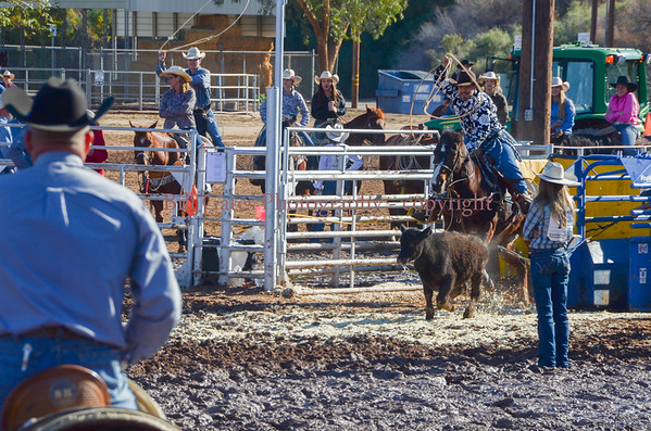 CHSRA Calf Roping Sunday Jan 15 2017