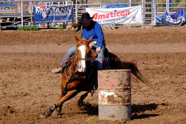 CHSRA District 8, Barrel Racing Jan 15 2017