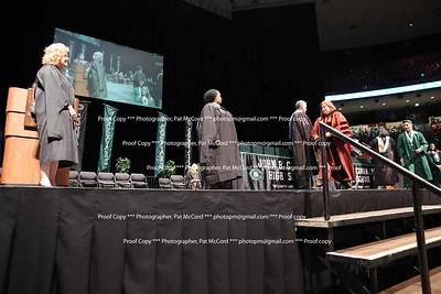 Principal Reed Handshake Graduation 2017