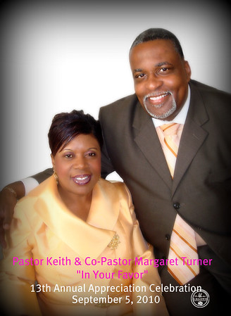 Pastor & Co-Pastor Turner Appreciation Service-9/5/10