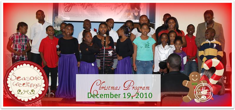 VCBC Christmas Program 2010
