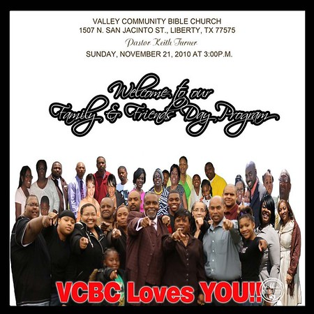 VCBC Family & Friends Day 11/21/10