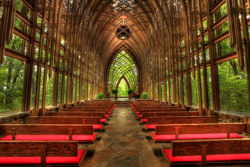 MILDRED B. COOPER MEMORIAL CHAPEL -  Bella Vista,  Arkansas July 4, 2012