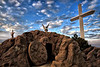 HE IS RISEN !! - The Cross at Groom Texas