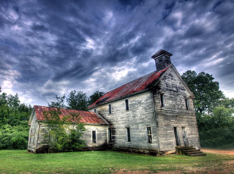 Old Hopper Church - Hopper, Arkansas